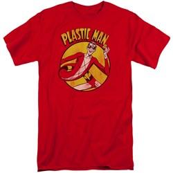 DC Comics - Mens Plastic Man Tall T-Shirt