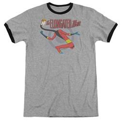 DC Comics - Mens Elongated Man Ringer T-Shirt