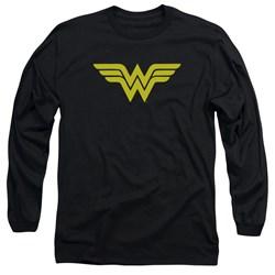 DC Comics - Mens Wonder Woman Logo Long Sleeve T-Shirt