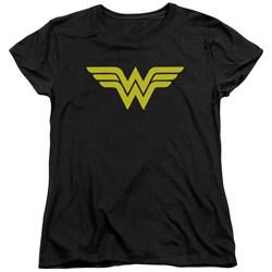 DC Comics - Womens Wonder Woman Logo T-Shirt