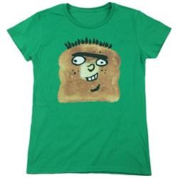 Ed Edd N Eddy - Womens Ed Toast T-Shirt