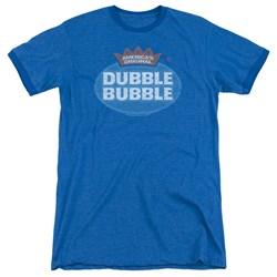 Dubble Bubble - Mens Vintage Logo Ringer T-Shirt