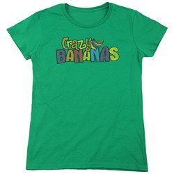 Dubble Bubble - Womens Crazy Bananas T-Shirt