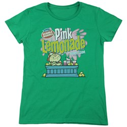 Dubble Bubble - Womens Pink Lemonade T-Shirt