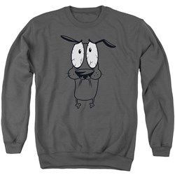 Courage The Cowardly Dog - Mens Scared Sweater