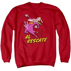 Cow And Chicken - Mens Al Rescate Sweater