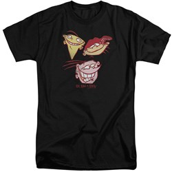 Ed Edd Eddy - Mens Three Heads Tall T-Shirt