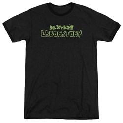 Dexter's Laboratory - Mens Dexter'S Logo Ringer T-Shirt