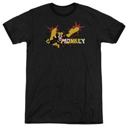 Dexter's Laboratory - Mens Monkey Ringer T-Shirt