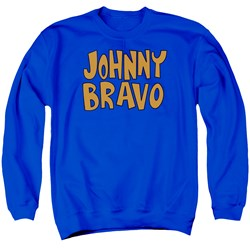 Johnny Bravo - Mens Jb Logo Sweater