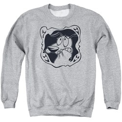 Courage The Cowardly Dog - Mens Ghost Frame Sweater