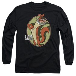 I Am Weasel - Mens Weasel Long Sleeve T-Shirt