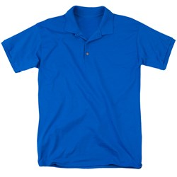 Foster's - Mens Blue Face (Back Print) Polo