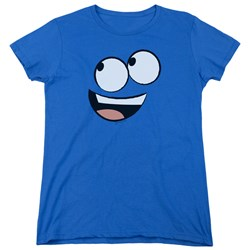 Foster's - Womens Blue Face T-Shirt