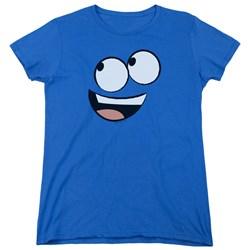 Foster's - Womens Blue Face T-Shirt