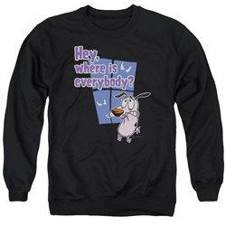 Courage - Mens Where Is Everybody Sweater