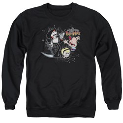 Billy &Amp; Mandy - Mens Splatter Cast Sweater