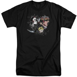 Billy & Mandy - Mens Splatter Cast Tall T-Shirt