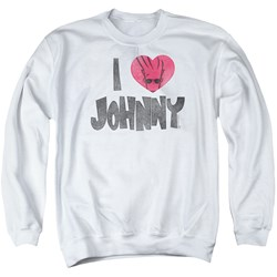 Johnny Bravo - Mens I Heart Johnny Sweater