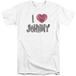 Johnny Bravo - Mens I Heart Johnny Tall T-Shirt