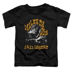 Miles Davis - Toddlers Jazz Legend T-Shirt