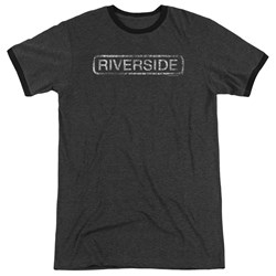 Riverside - Mens Riverside Distressed Ringer T-Shirt