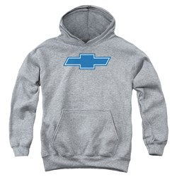 Chevrolet - Youth Simple Vintage Bowtie Pullover Hoodie