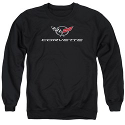 Chevrolet - Mens Corvette Modern Emblem Sweater