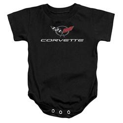 Chevrolet - Toddler Corvette Modern Emblem Onesie