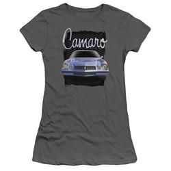 Chevrolet - Juniors Yellow Camaro T-Shirt