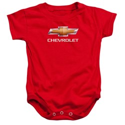 Chevrolet - Toddler Chevy Bowtie Stacked Onesie