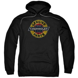 Chevrolet - Mens Genuine Chevy Parts Distressed Sign Pullover Hoodie