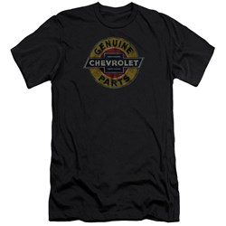 Chevrolet - Mens Genuine Chevy Parts Distressed Sign Slim Fit T-Shirt