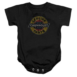 Chevrolet - Toddler Genuine Chevy Parts Distressed Sign Onesie