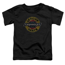 Chevrolet - Toddlers Genuine Chevy Parts Distressed Sign T-Shirt