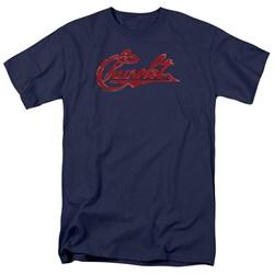 Chevrolet - Mens Chevrolet Script Distressed T-Shirt