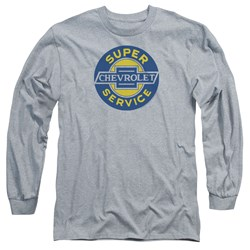 Chevrolet - Mens Chevy Super Service Long Sleeve T-Shirt
