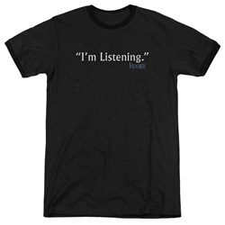 Frasier - Mens I'M Listening Ringer T-Shirt