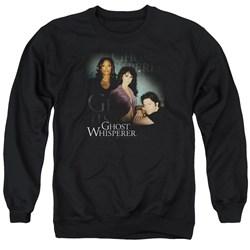 Ghost Whisperer - Mens Diagonal Cast Sweater