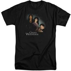 Ghost Whisperer - Mens Diagonal Cast Tall T-Shirt