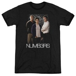 Numbers - Mens Equations Ringer T-Shirt