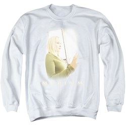 Medium - Mens White Light Sweater