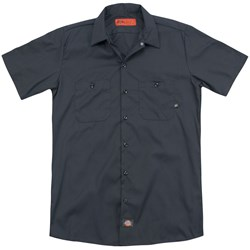 Chicago - Mens Distressed(Back Print) Work Shirt
