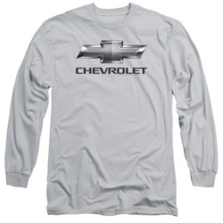 Chevrolet - Mens Chevy Bowtie Long Sleeve T-Shirt
