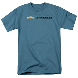 Chevrolet - Mens Chevy Bowtie Wide Front T-Shirt