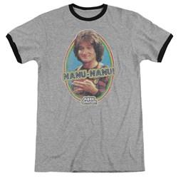 Mork & Mindy - Mens Nanu Nanu Ringer T-Shirt