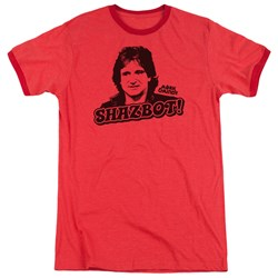 Mork & Mindy - Mens Shazbot Ringer T-Shirt