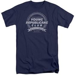 Family Ties - Mens Young Republicans Club Tall T-Shirt