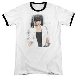 Ncis - Mens Abby Skulls Ringer T-Shirt