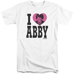 Ncis - Mens I Heart Abby Tall T-Shirt